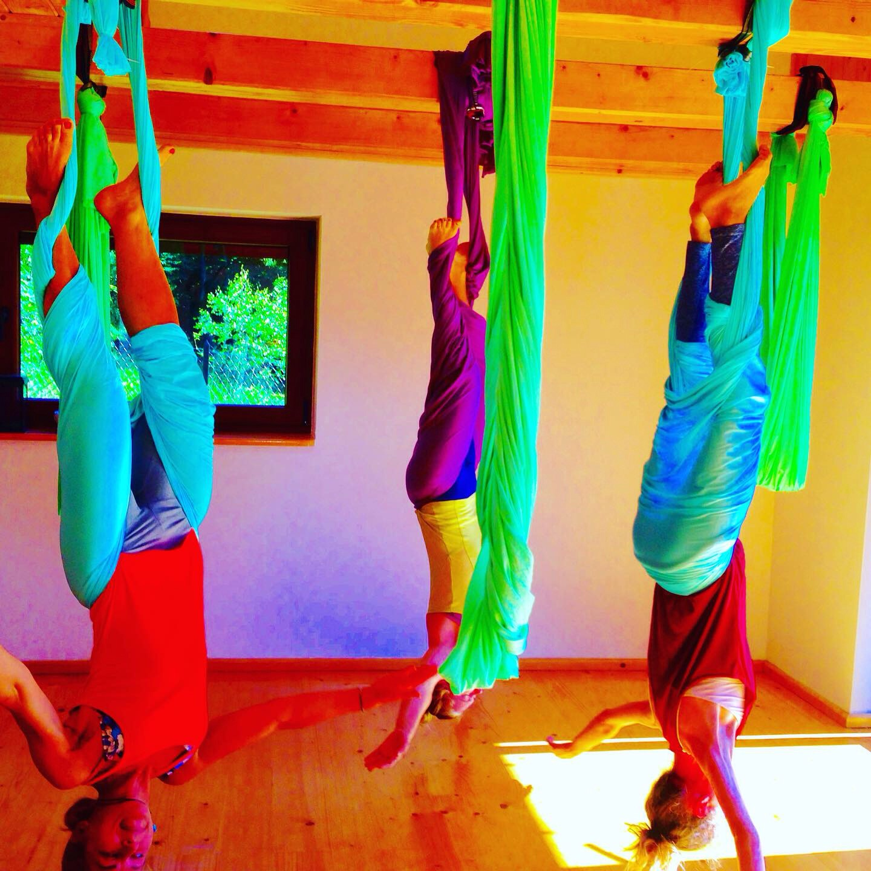 Aerial Yoga at Flowmove