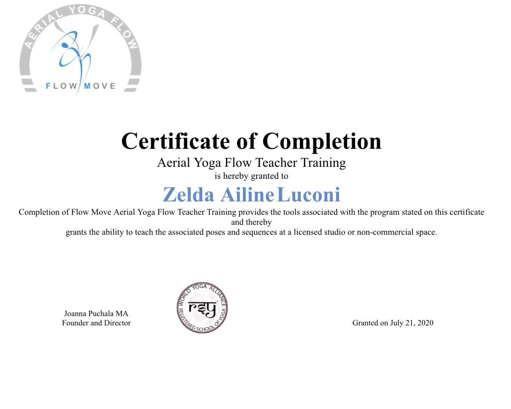 Zelda Ailine Luconi